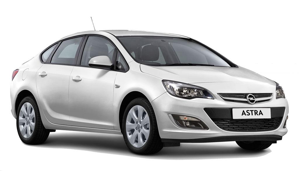Autobahn Opel-Astra-Sedan